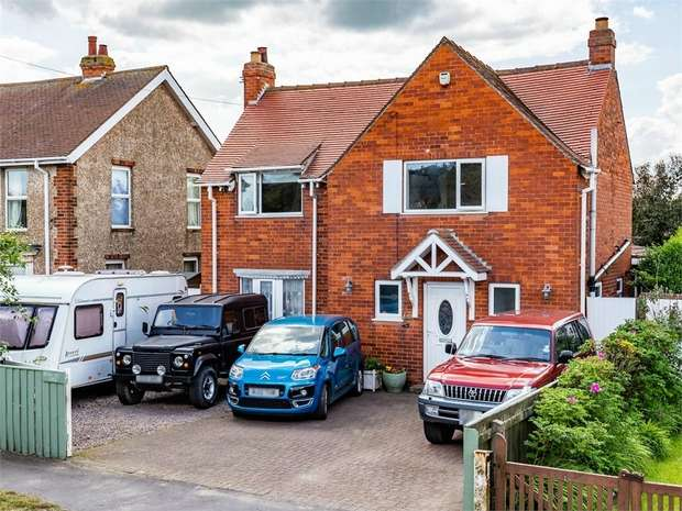 4 Bedrooms Detached House for sale in Anderby Road, Chapel St Leonards, Skegness, Lincolnshire