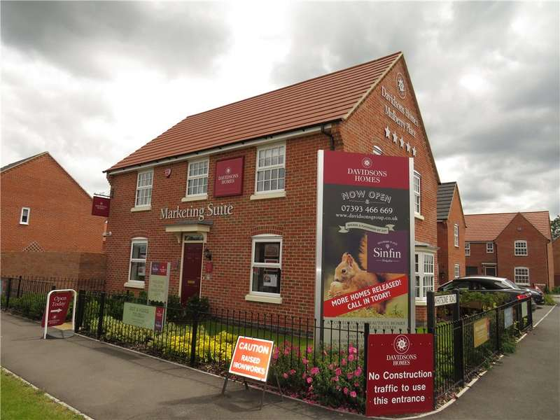 4 Bedrooms Detached House for sale in Mulberry Place, Wragley Way, Sinfin, Derby, DE24