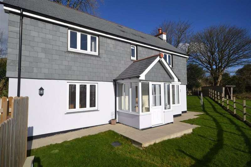 4 Bedrooms Detached House for sale in School Hill, Lanjeth, St Austell, Cornwall, PL26