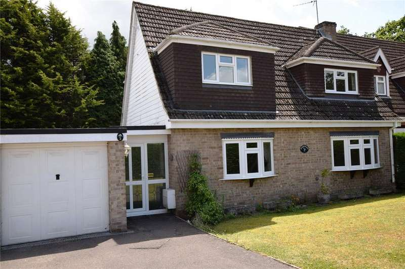 3 Bedrooms Detached House for sale in Goodwood Close, Burghfield Common, Reading, Berkshire, RG7