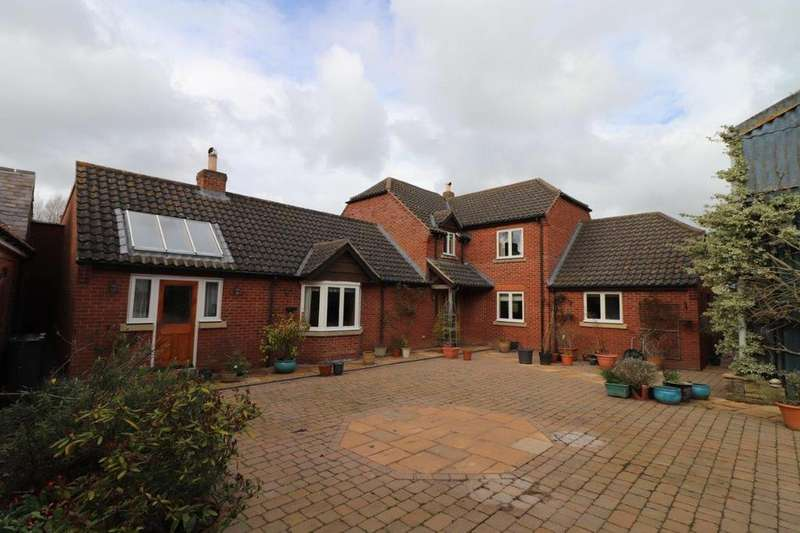 4 Bedrooms Detached House for sale in Ashby Folville
