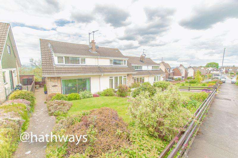 3 Bedrooms Semi Detached House for sale in Northfield Close, Caerleon