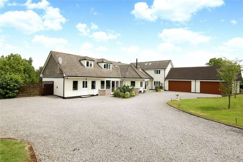 5 Bedrooms Detached House for sale in Tuckers Lane, Ubley, Bristol, BS40