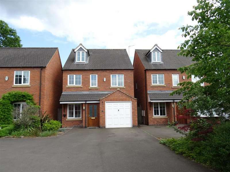 4 Bedrooms Detached House for sale in Nursery Gardens, Coalville, Leicestershire