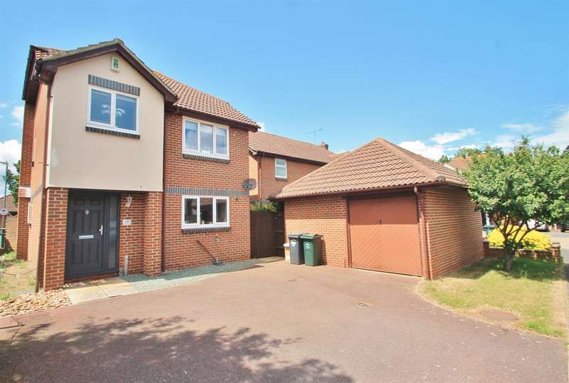 3 Bedrooms Detached House for sale in Pilgrims View, Greenhithe, DA9 9QB