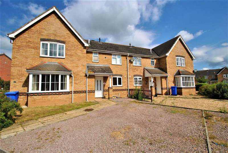 3 Bedrooms Terraced House for sale in Stephenson Close, Boston