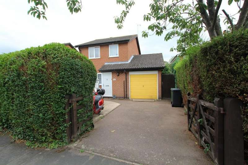 3 Bedrooms Detached House for sale in Ruskin Avenue, Syston