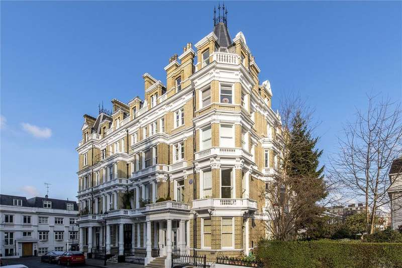 3 Bedrooms Penthouse Flat for sale in Cornwall Gardens, London, SW7