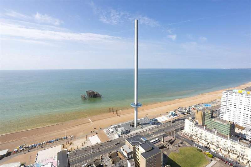 4 Bedrooms Apartment Flat for sale in Sussex Heights, Brighton, East Sussex, BN1
