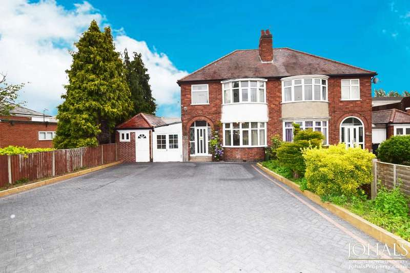 4 Bedrooms Semi Detached House for sale in Leicester Road, Wigston, Leicestershire, LE18