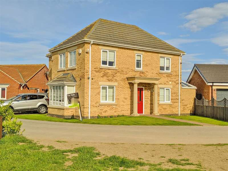 3 Bedrooms Detached House for sale in Wickenby Way, Skegness