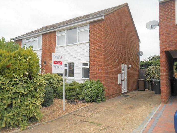 2 Bedrooms Semi Detached House for rent in ALFRISTON CLOSE, Stopsley