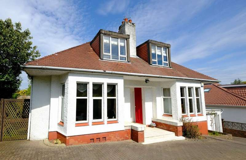 4 Bedrooms Detached House for sale in 28 Pendicle Road, Bearsden, G61 1DY