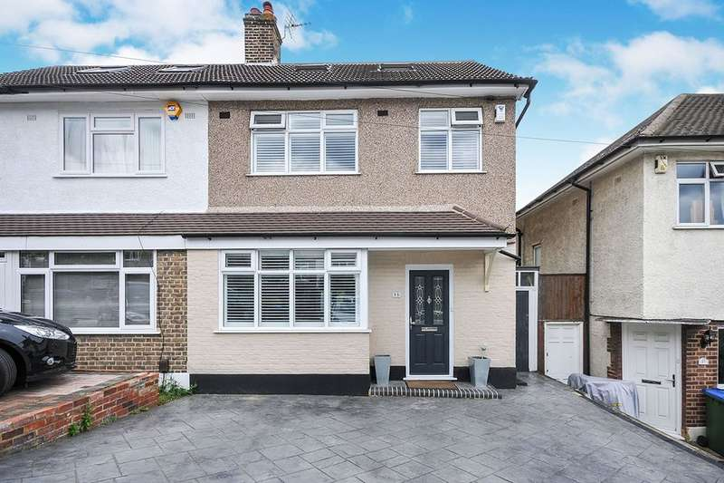 4 Bedrooms Semi Detached House for sale in Allenswood Road, London, SE9