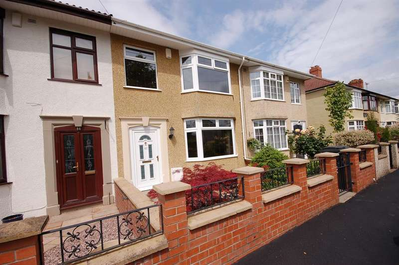 4 Bedrooms Terraced House for sale in Kingsway, St. George, Bristol, BS5 8NF