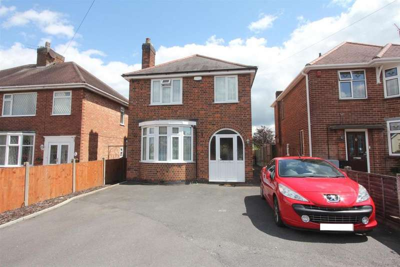 4 Bedrooms Detached House for sale in Teign Bank Road, Hinckley