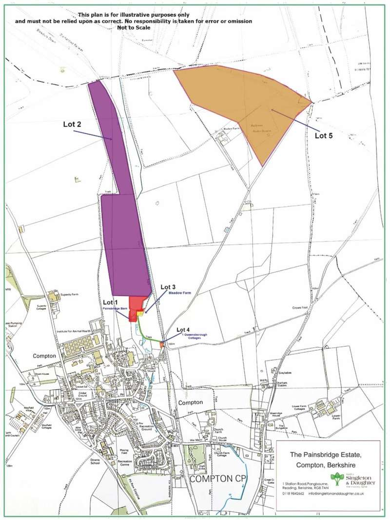 Farm Land Commercial for sale in Wallingford Road, Compton