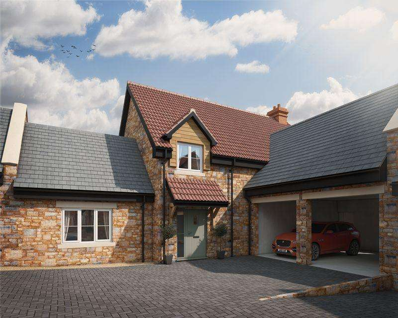 4 Bedrooms Semi Detached House for sale in Character new home in a desirable village