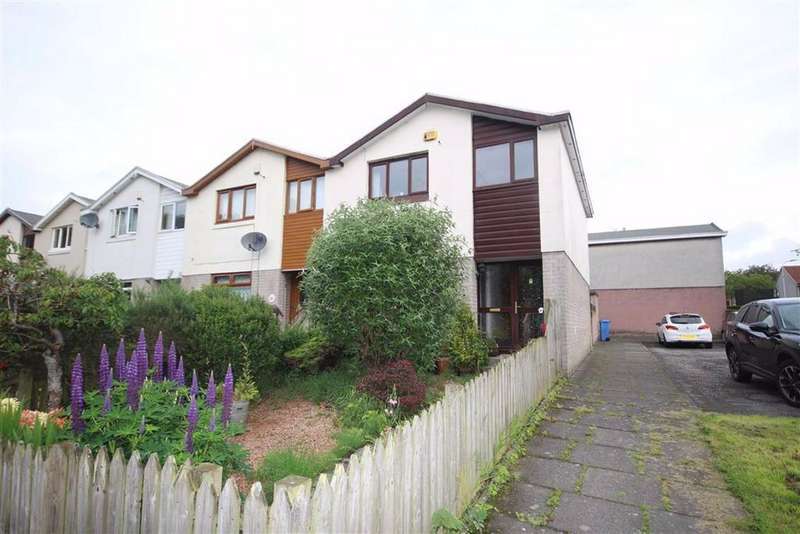 3 Bedrooms Terraced House for sale in 1, Milnwood Court, Glenrothes, Fife, KY6