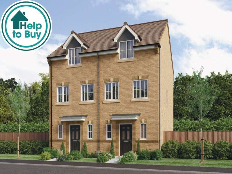 3 Bedrooms Semi Detached House for sale in Westburn Village, Hebburn