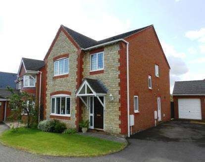 4 Bedrooms Detached House for sale in Falcon Way, Brackley, Northamptonshire