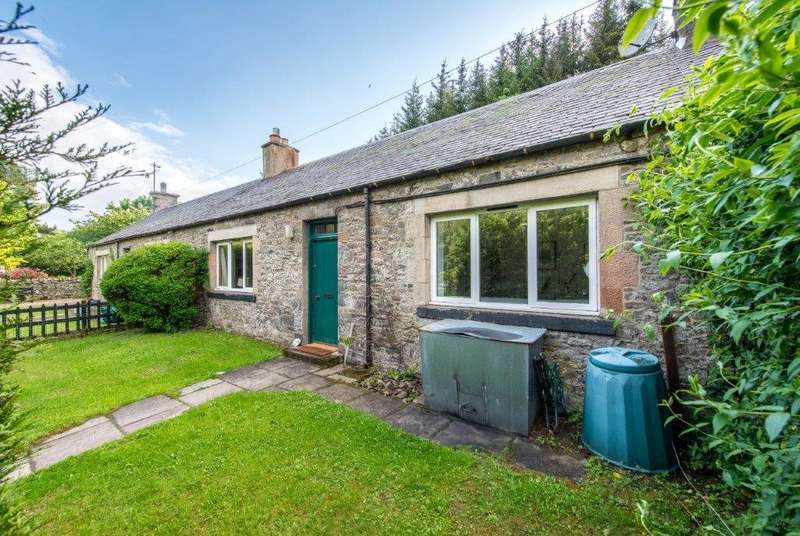 2 Bedrooms Terraced House for sale in 2 Newhall Farm Cottages, Innerleithen, Scottish Borders, EH44