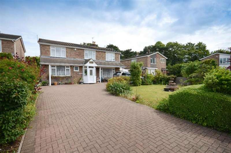 5 Bedrooms Detached House for sale in Fenbrook Close, Hambrook, Bristol, BS16 1QJ