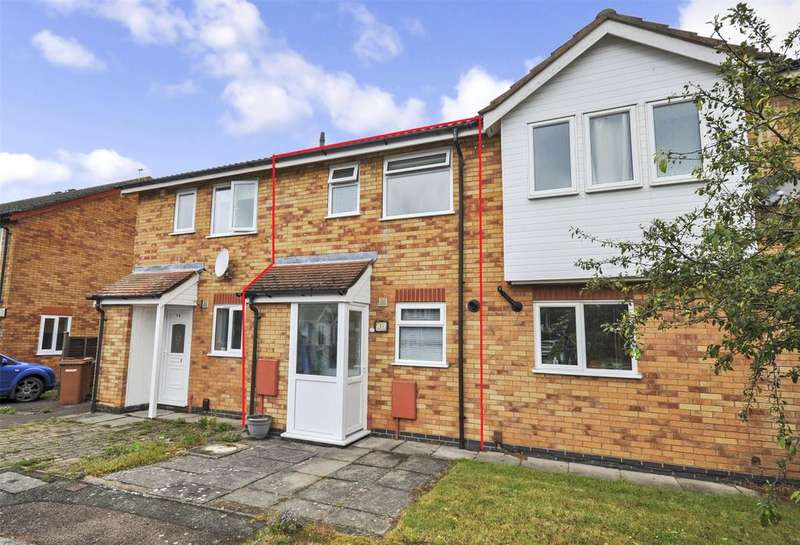 2 Bedrooms Terraced House for sale in Lodge Close, Melton Mowbray, Leicestershire