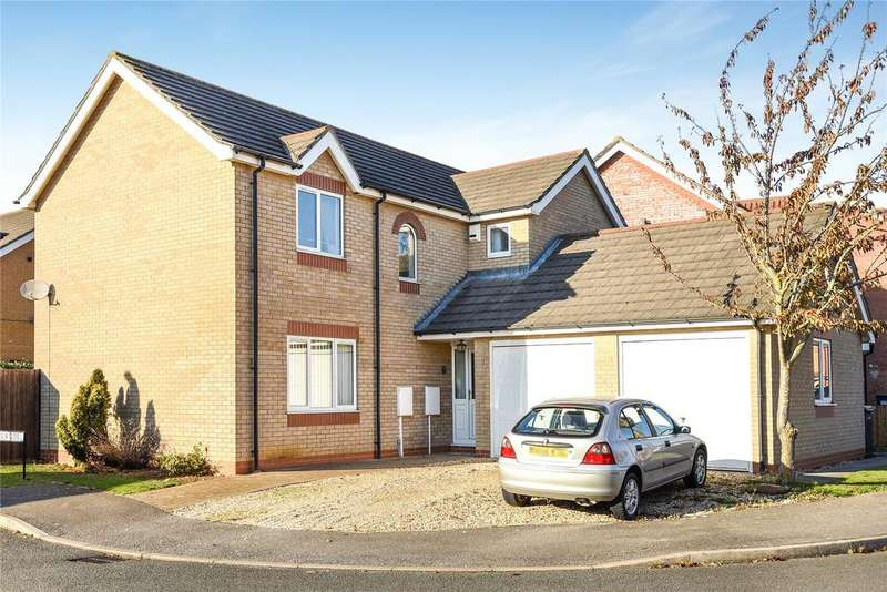 4 Bedrooms Detached House for sale in Bernicia Drive, Quarrington, NG34
