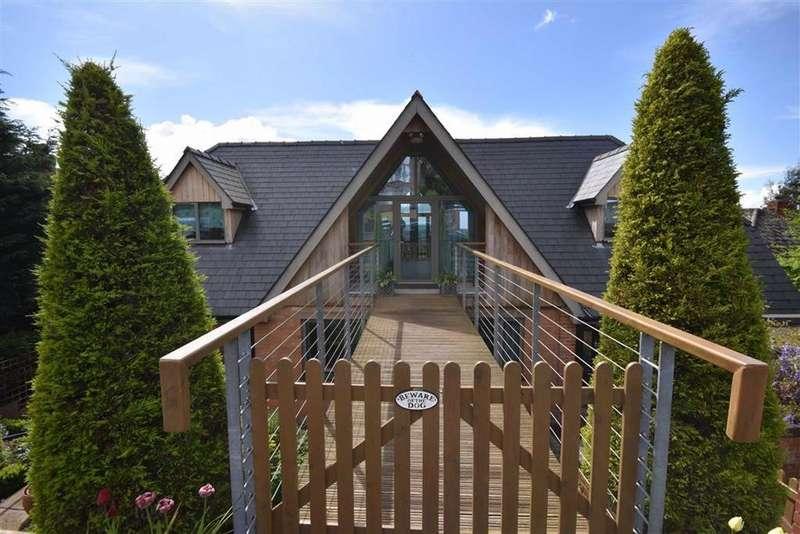 4 Bedrooms Detached House for sale in Bank Crescent, Ledbury, Herefordshire