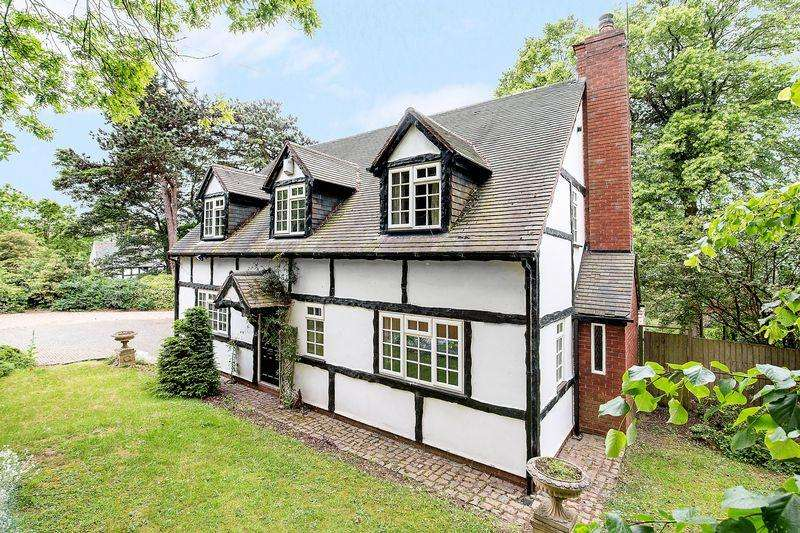 4 Bedrooms Detached House for sale in Pinfold Lane, Aldridge