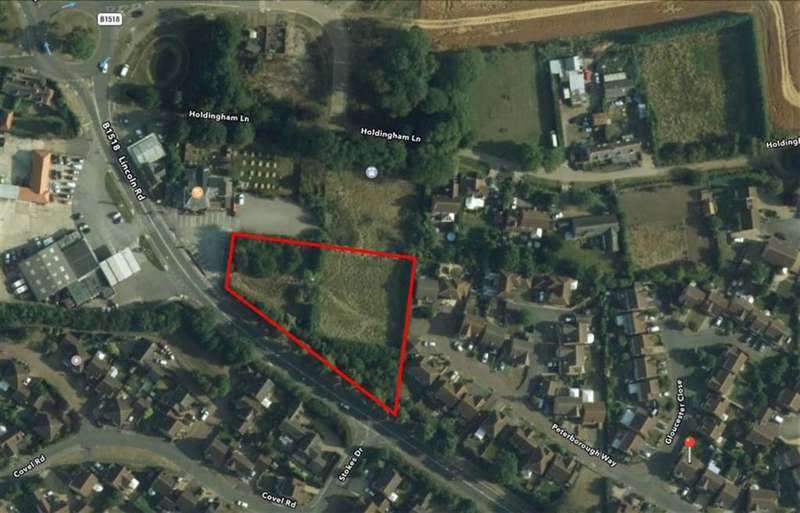 Land Commercial for sale in Peterborough Way, Sleaford, Lincolnshire