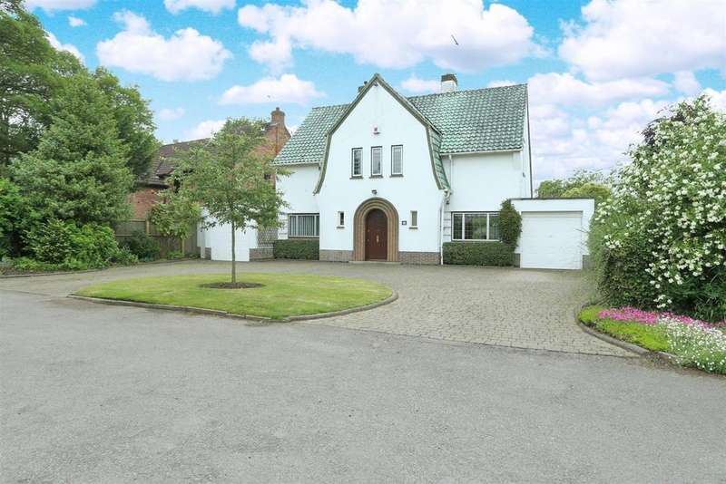 4 Bedrooms Detached House for sale in Forest Rise, Kirby Muxloe, Leicester