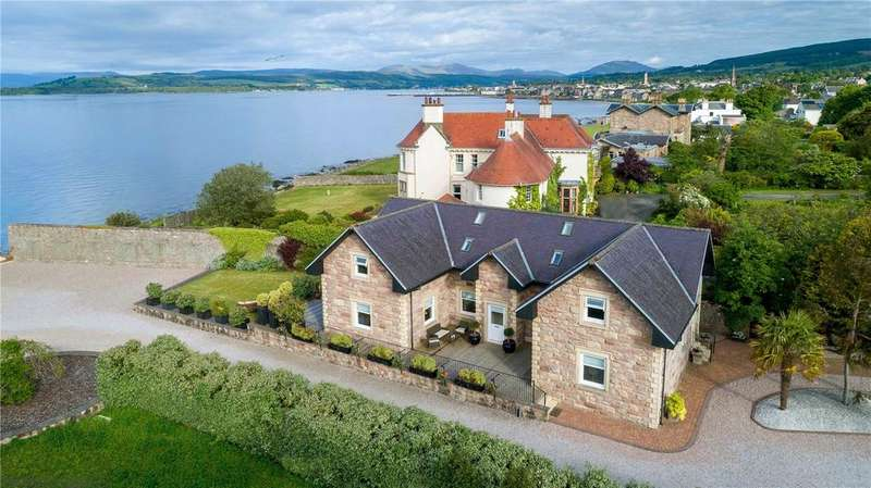 4 Bedrooms Unique Property for sale in Rockfort, The Gate House, 154 East Clyde Street, Helensburgh, G84