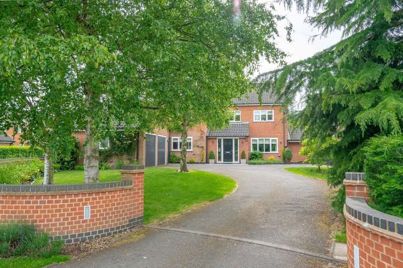 5 Bedrooms Detached House for sale in Rochester Close, Kibworth Harcourt, Leicester