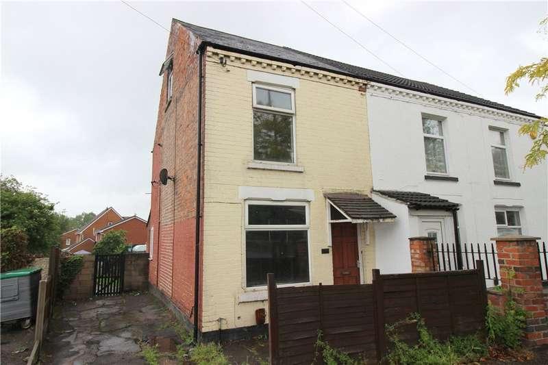 3 Bedrooms End Of Terrace House for sale in Nottingham Road, Spondon, Derby, Derbyshire, DE21