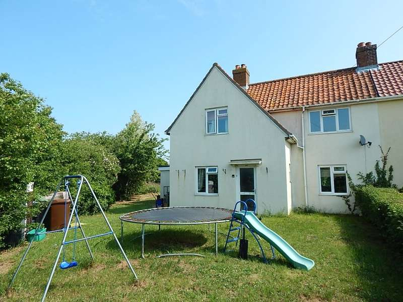 3 Bedrooms Semi Detached House for sale in 1 Mill Road, Forncett St. Peter, Norwich, Norfolk
