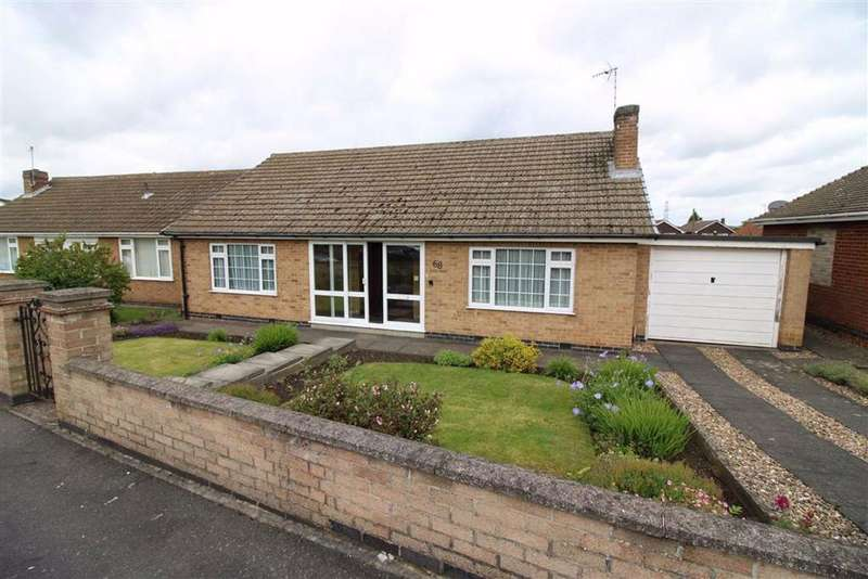 3 Bedrooms Detached Bungalow for sale in Piers Road, Glenfield