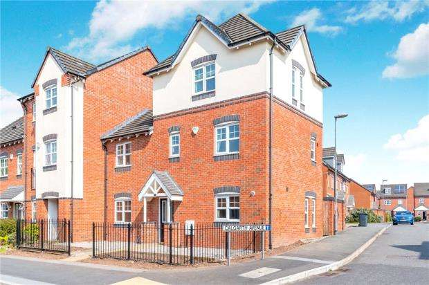 4 Bedrooms End Of Terrace House for sale in Longshaw Street, Warrington, Cheshire