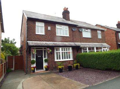 3 Bedrooms Semi Detached House for sale in Lacey Green, Wilmslow, Cheshire, .