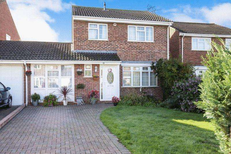 4 Bedrooms Detached House for sale in Oriole Way, Abbeydale, Gloucester