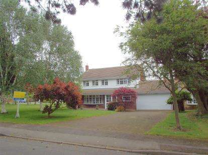4 Bedrooms Detached House for sale in The Yews, Oadby, Leicester, Leicestershire