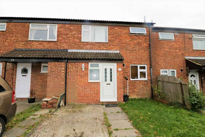3 Bedrooms Terraced House for sale in Peregrine Road, Luton LU4