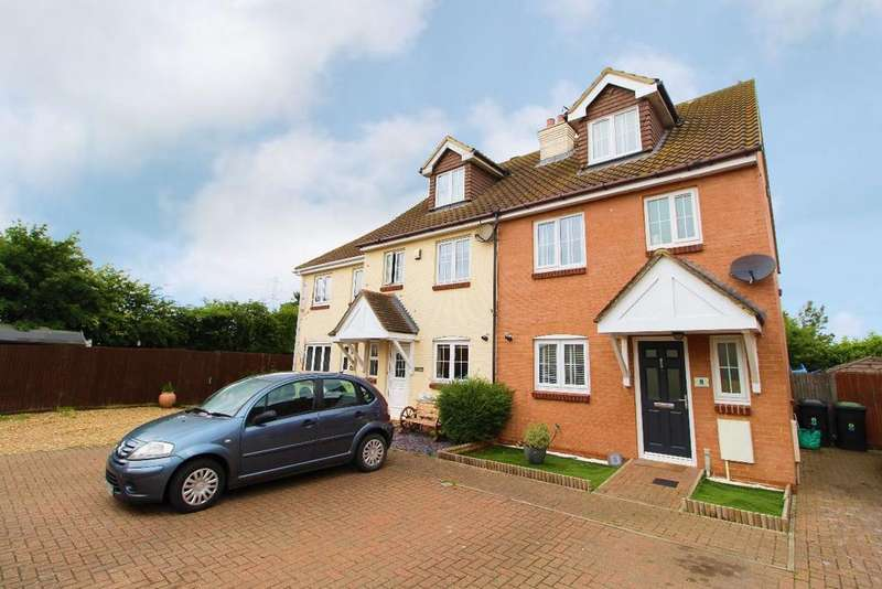 4 Bedrooms End Of Terrace House for sale in The Rickyard, Lower Shelton, Bedfordshire, MK43