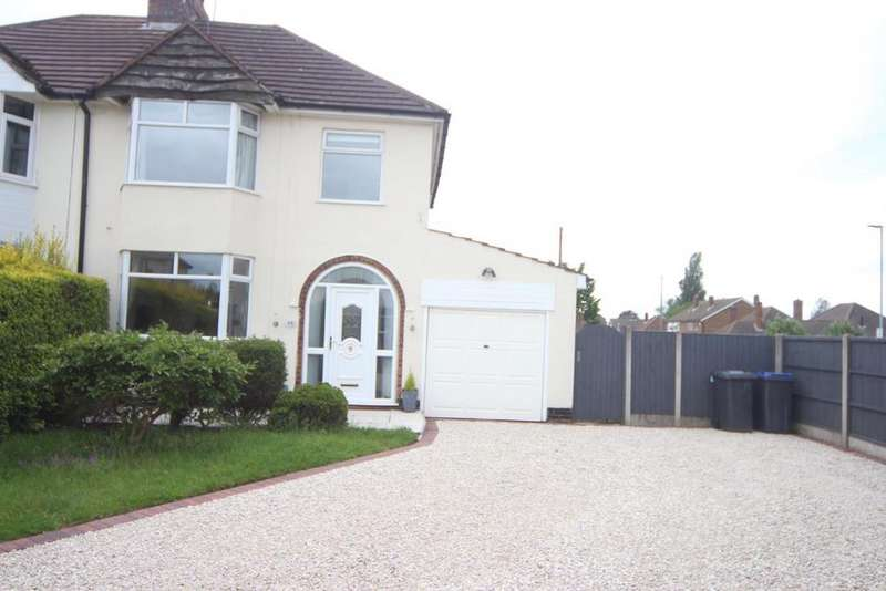 3 Bedrooms Semi Detached House for sale in Stanley Road, Hinckley
