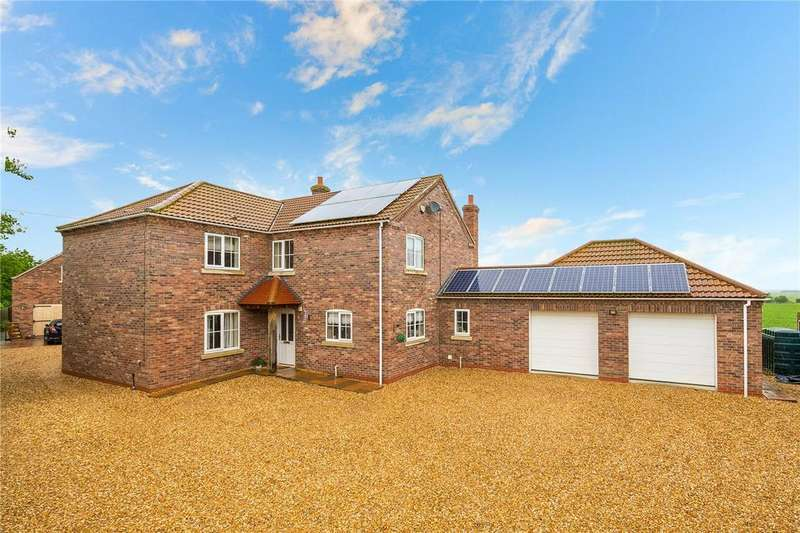 4 Bedrooms Detached House for sale in Mill Lane, Martin, Lincoln, Lincolnshire, LN4