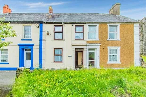 3 Bedrooms Terraced House for sale in Llansawel, Llandeilo, Carmarthenshire