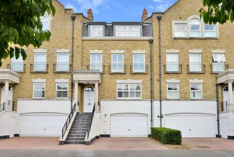4 Bedrooms Town House for sale in Clearwater Place, Surbiton, KT6
