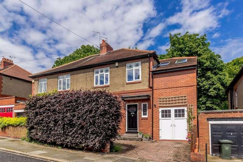 4 Bedrooms Semi Detached House for sale in Grosvenor Avenue, Jesmond, Newcastle Upon Tyne, Tyne Wear