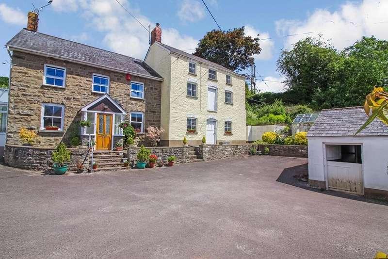 3 Bedrooms Detached House for sale in Llanvapley, Abergavenny, NP7